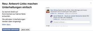 Facebook Kommentarfunktion Ausschalten